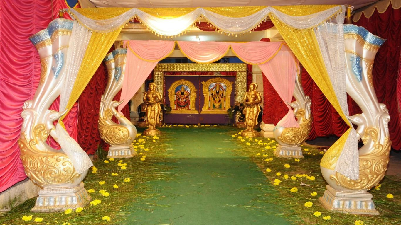 tirumala marriage contractor - name board & entrance 118