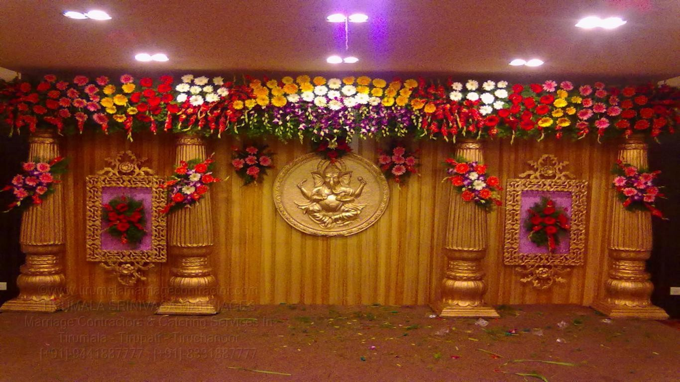 tirumala marriage contractor - reception 18