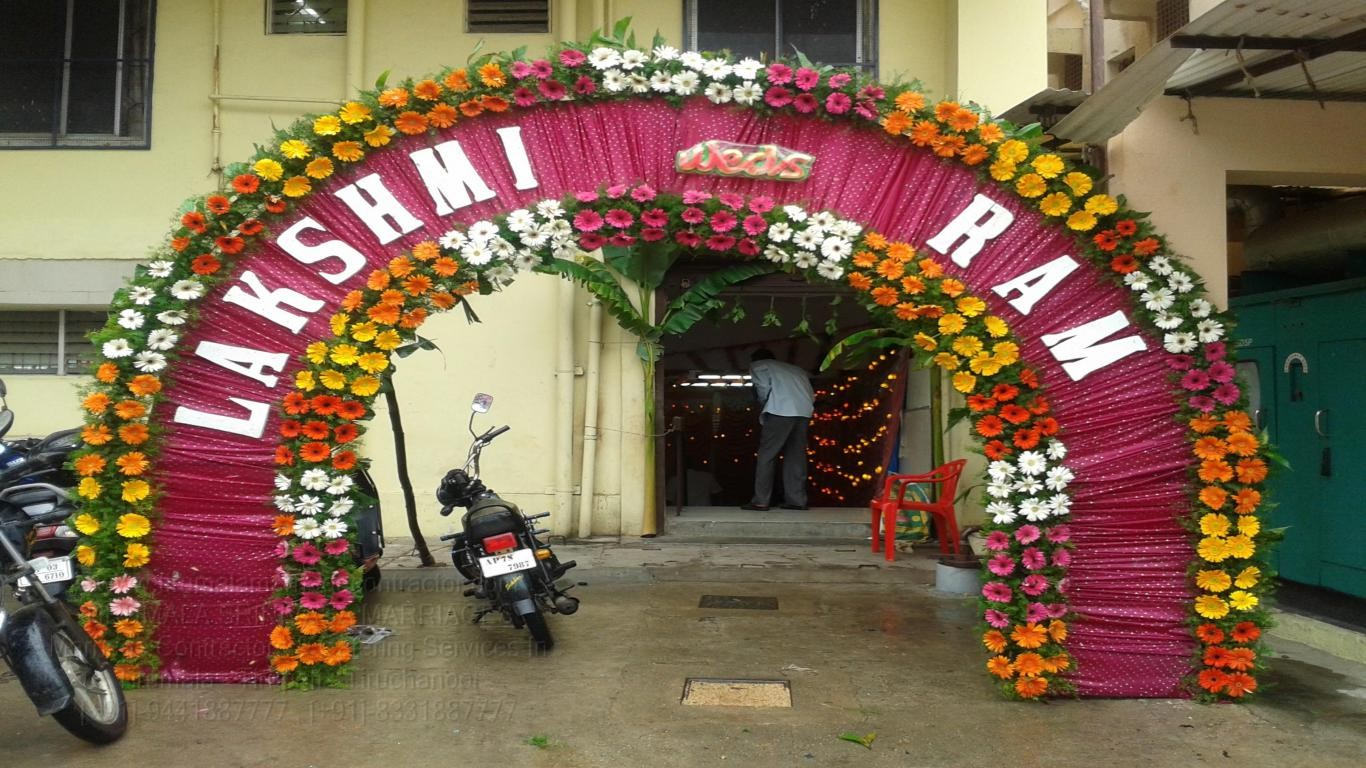 tirumala marriage contractor - name board & entrance 16