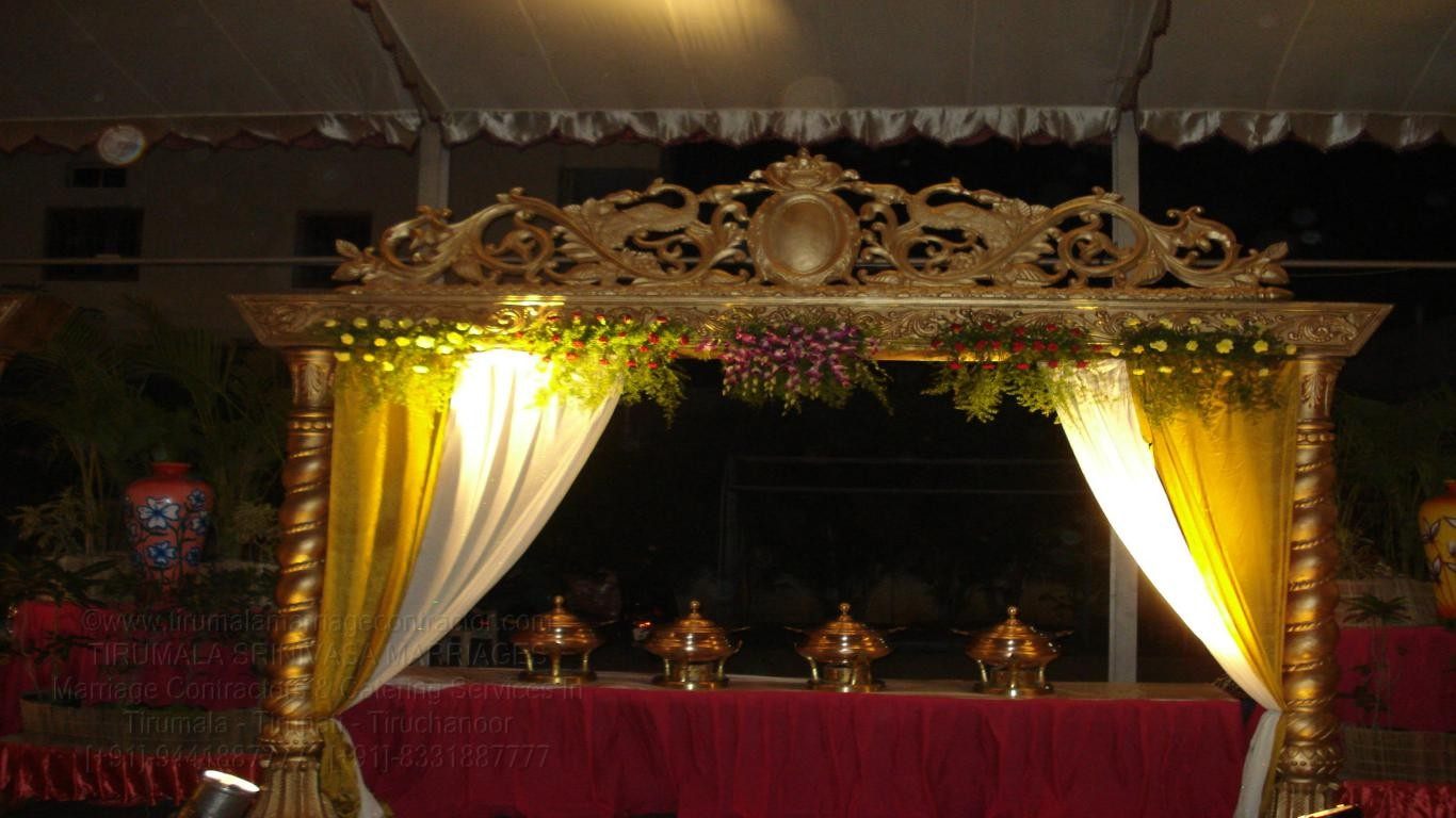 tirumala marriage contractor - name board & entrance 122