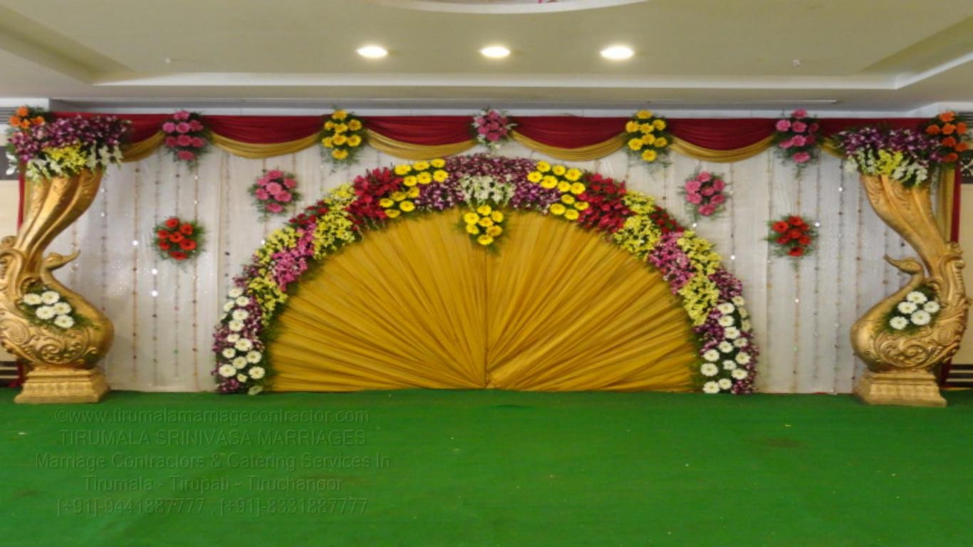 tirumala marriage contractor - reception 15