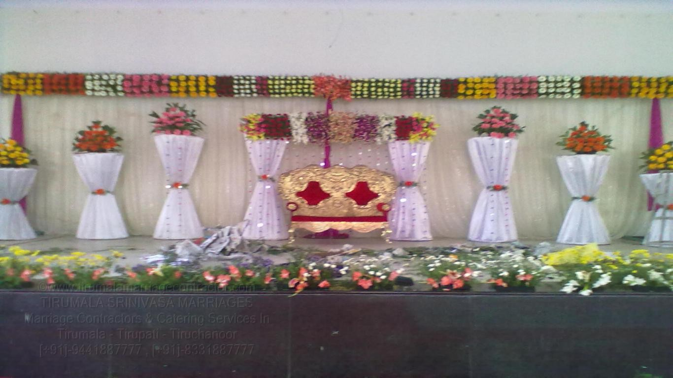 tirumala marriage contractor - reception 47