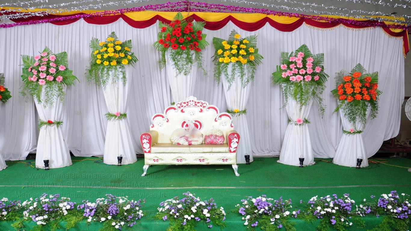 tirumala marriage contractor - reception 57