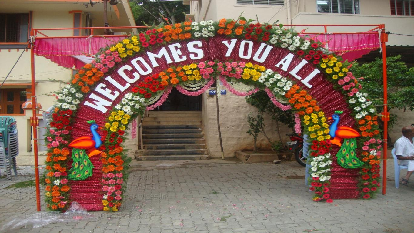 TIRUMALA MARRIAGE CONTRACTOR  Wedding Name Board & Enterances