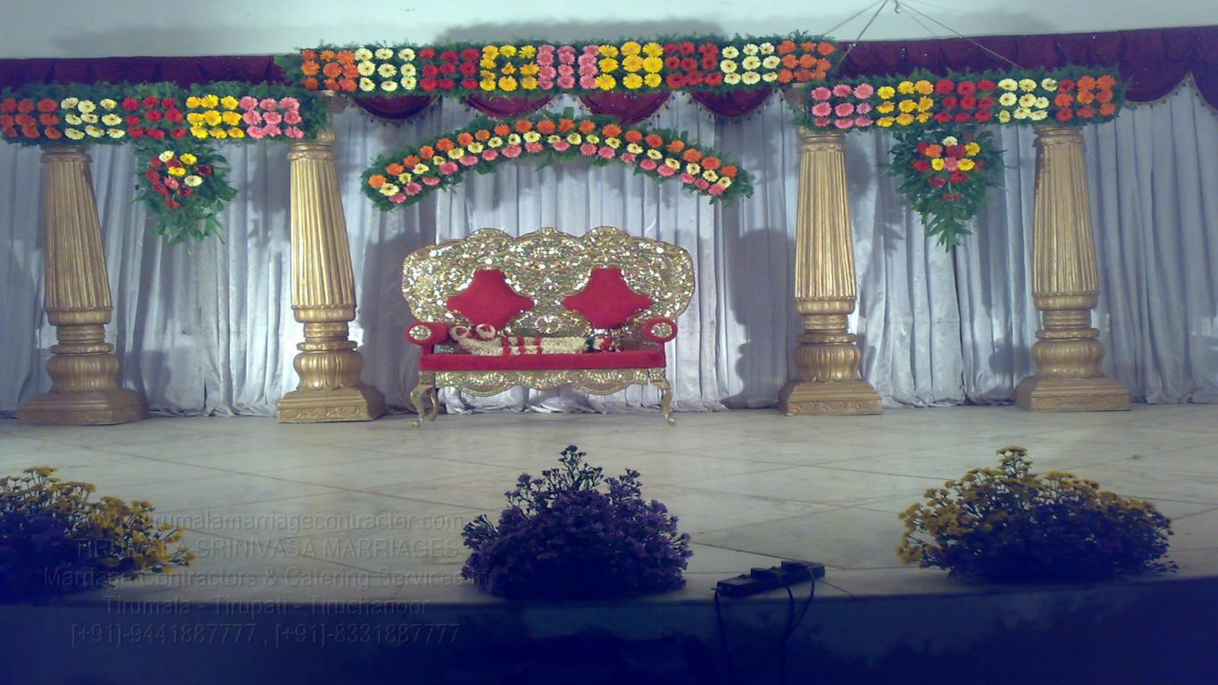 tirumala marriage contractor - reception 44