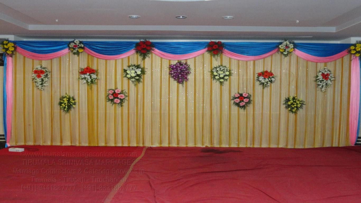 tirumala marriage contractor - reception 17