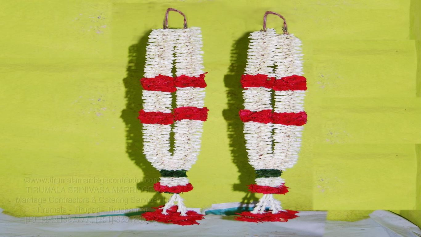 tirumala marriage contractor - garlands 16