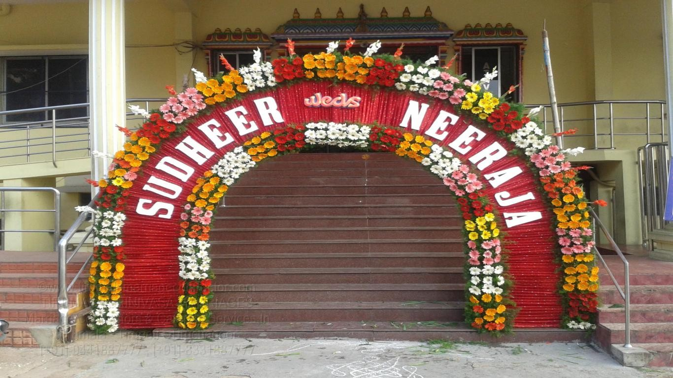tirumala marriage contractor - name board & entrance 27