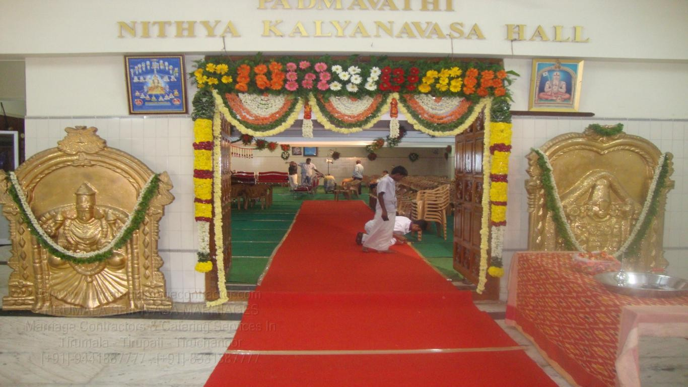 tirumala marriage contractor - name board & entrance 58
