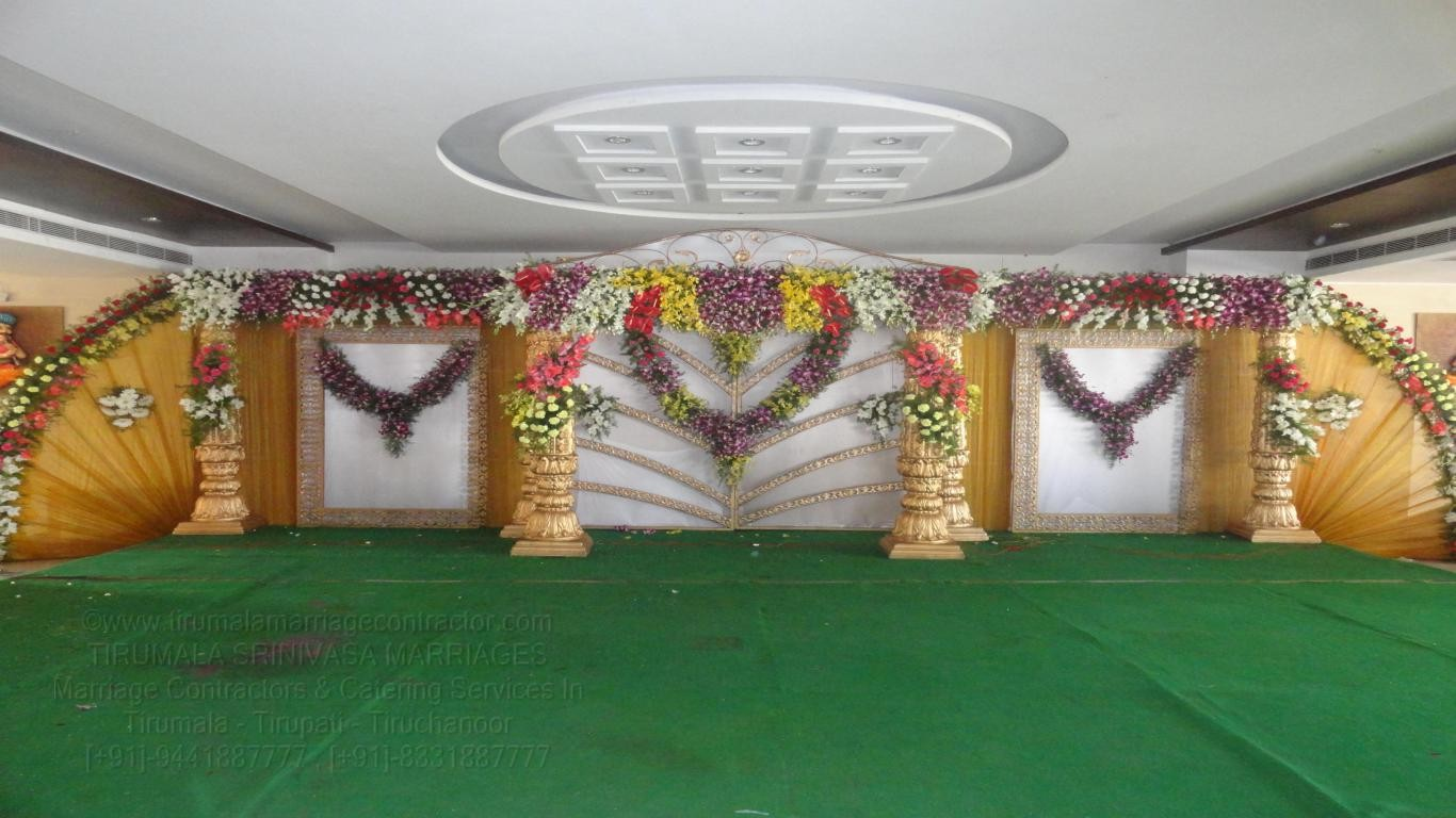 tirumala marriage contractor - reception 05