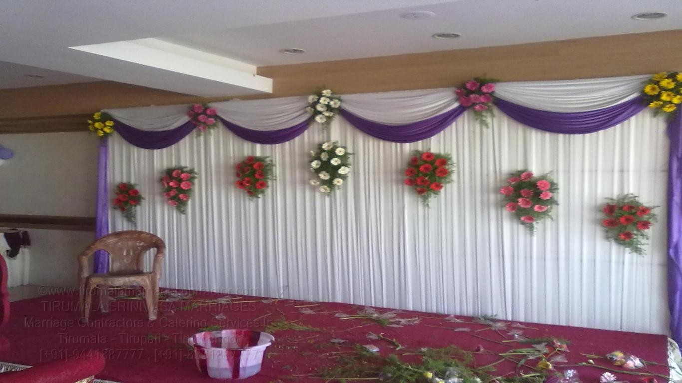 tirumala marriage contractor - reception 66