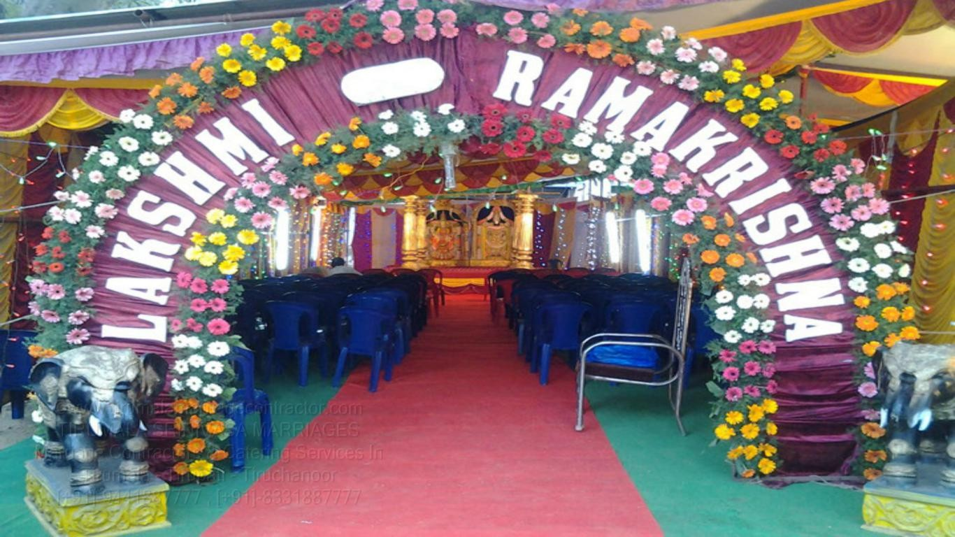 tirumala marriage contractor - name board & entrance 33