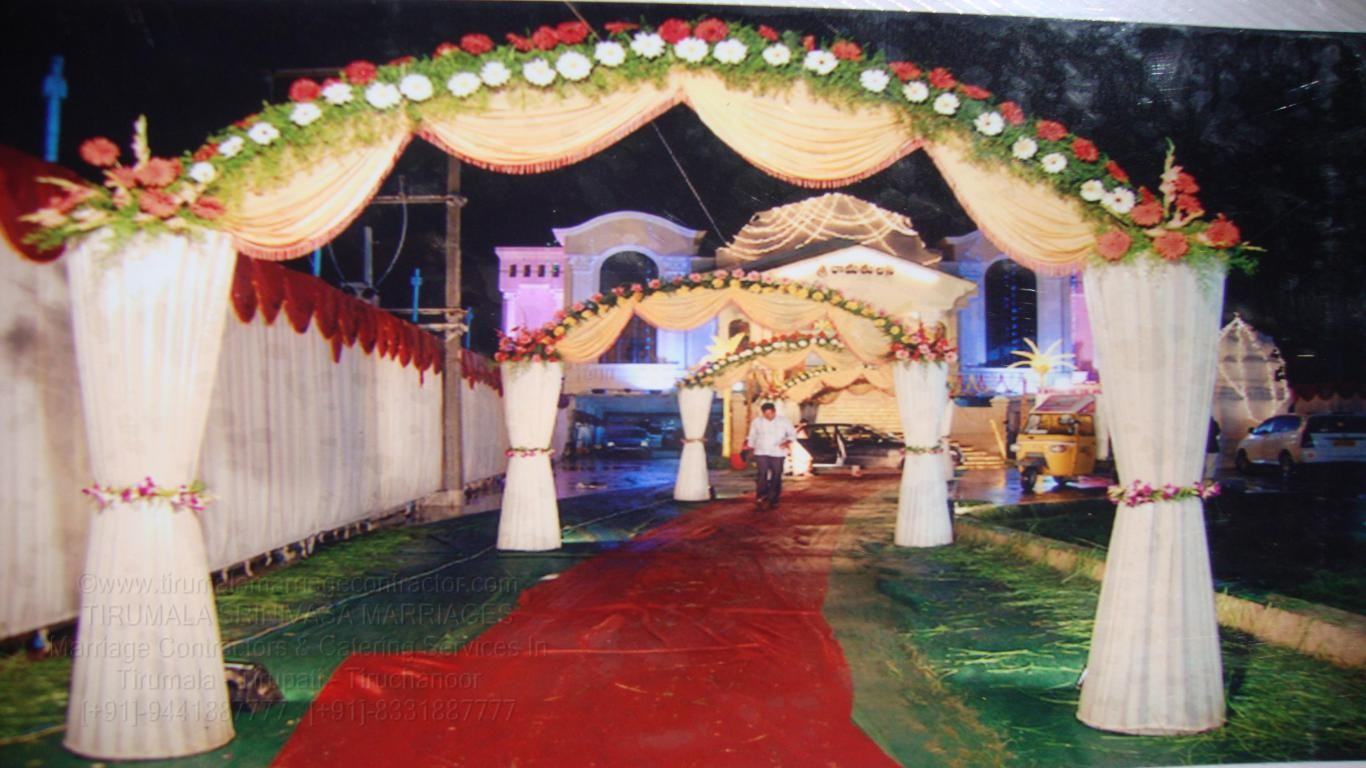 tirumala marriage contractor - name board & entrance 124