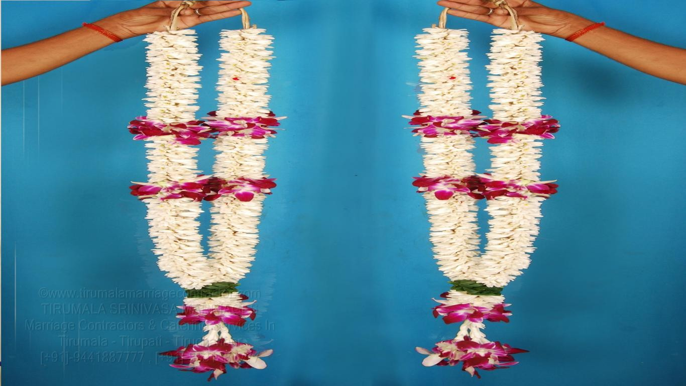 tirumala marriage contractor - garlands 15