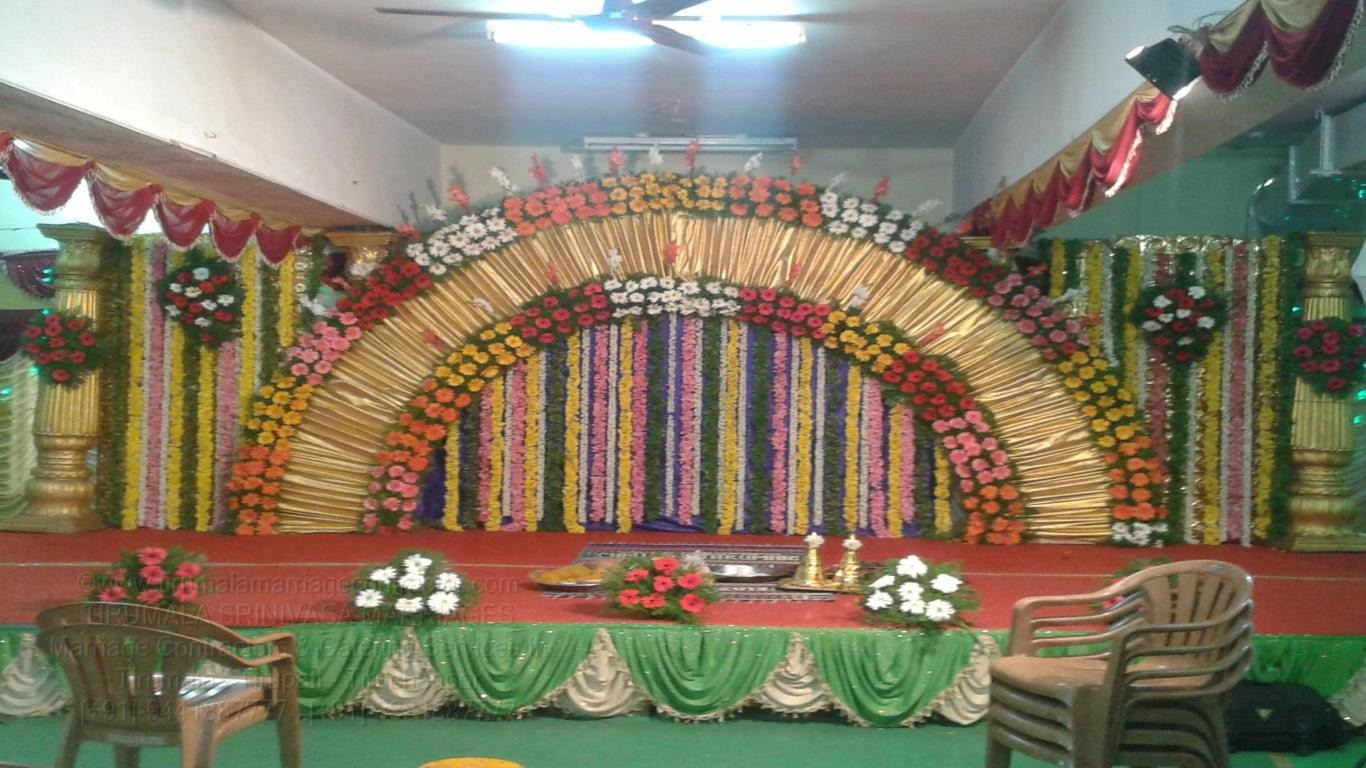 tirumala marriage contractor - reception 24