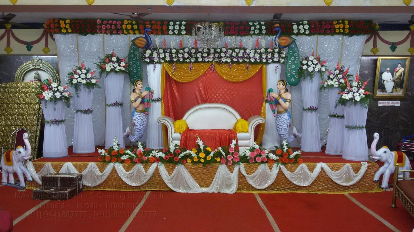 tirumala marriage contractor - reception 27