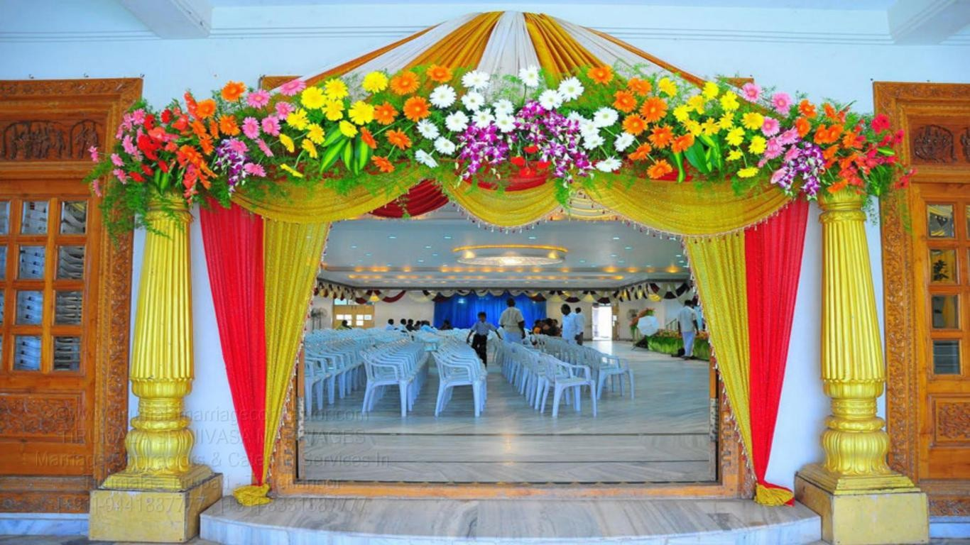 tirumala marriage contractor - name board & entrance 79