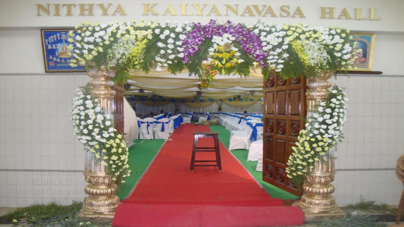 tirumala marriage contractor - name board & entrance 59