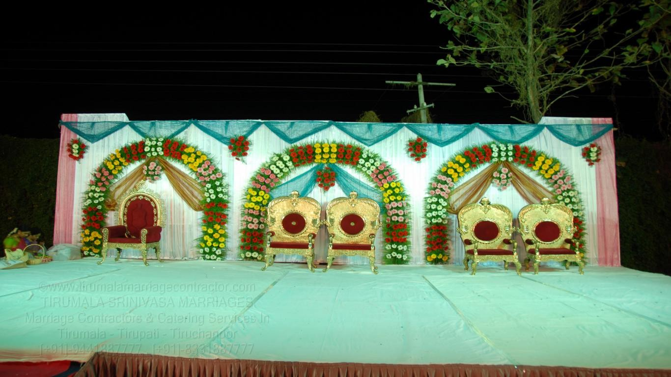 tirumala marriage contractor - reception 13