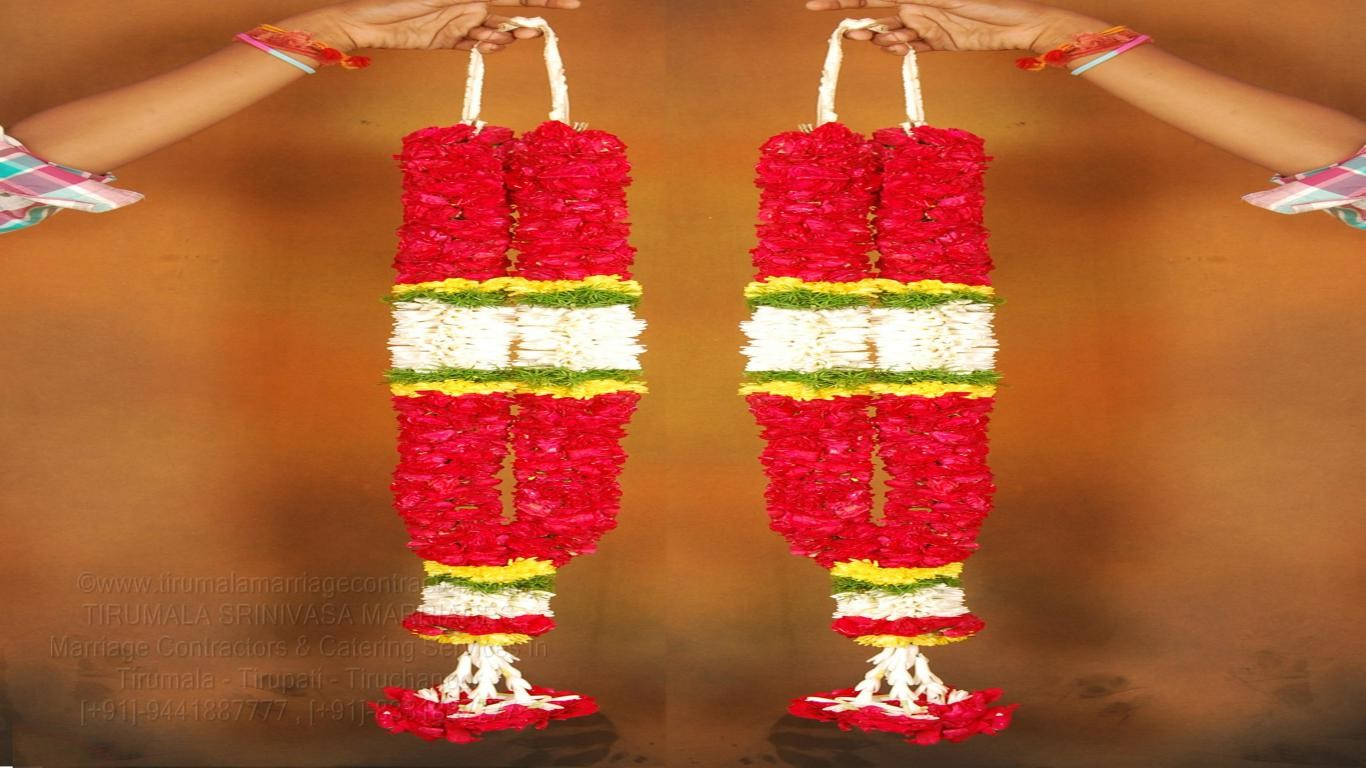 tirumala marriage contractor - garlands 10