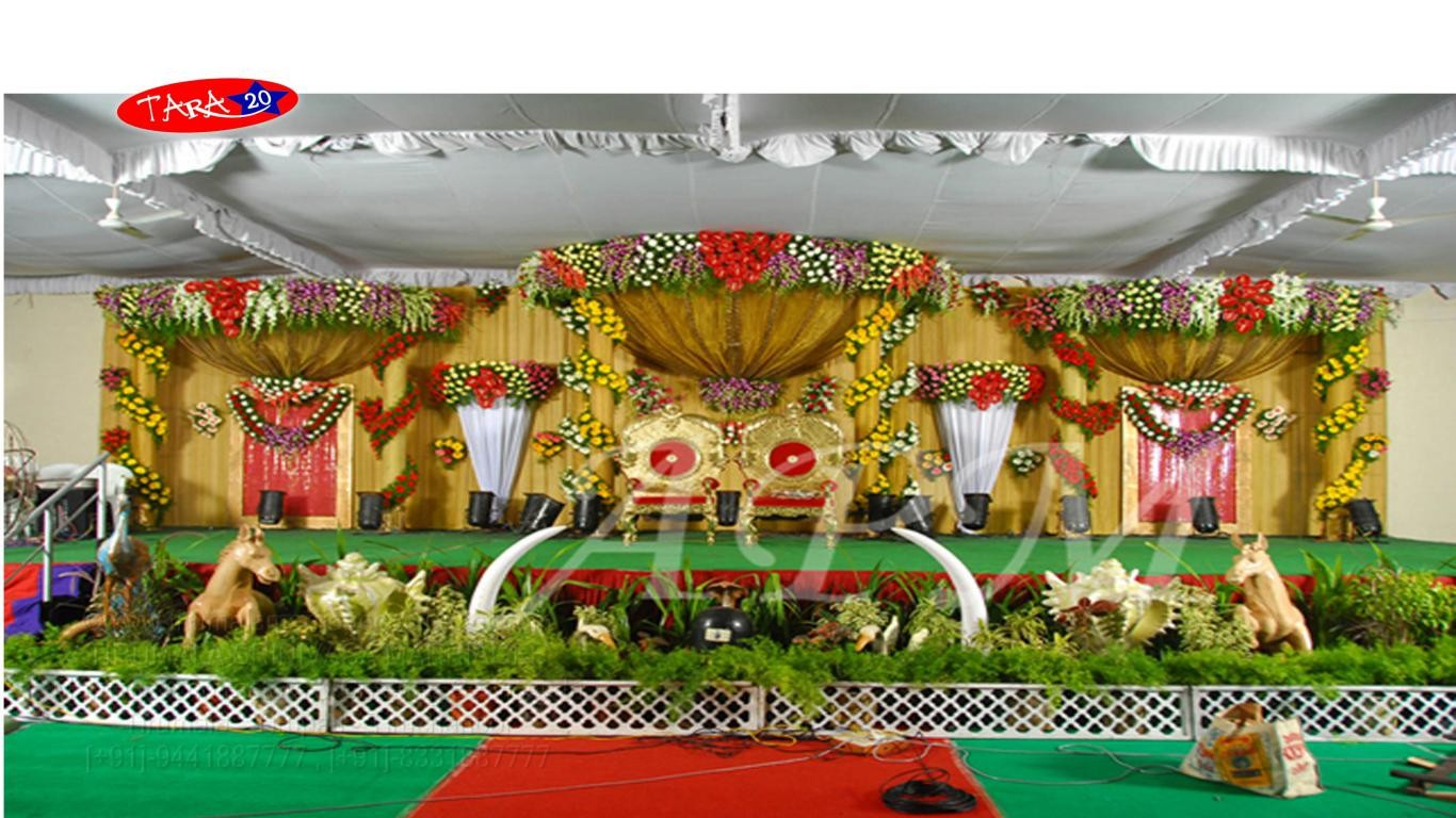 tirumala marriage contractor - reception 03