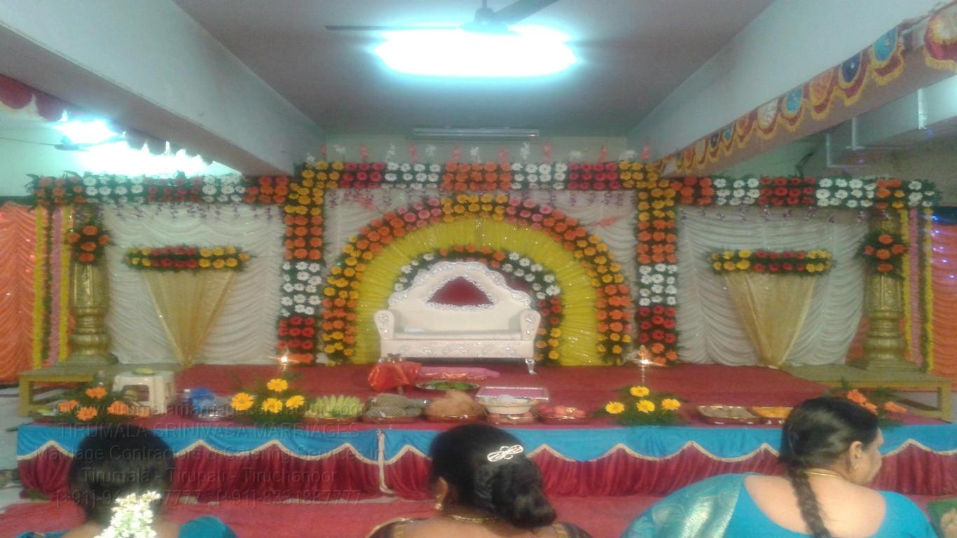 tirumala marriage contractor - reception 25