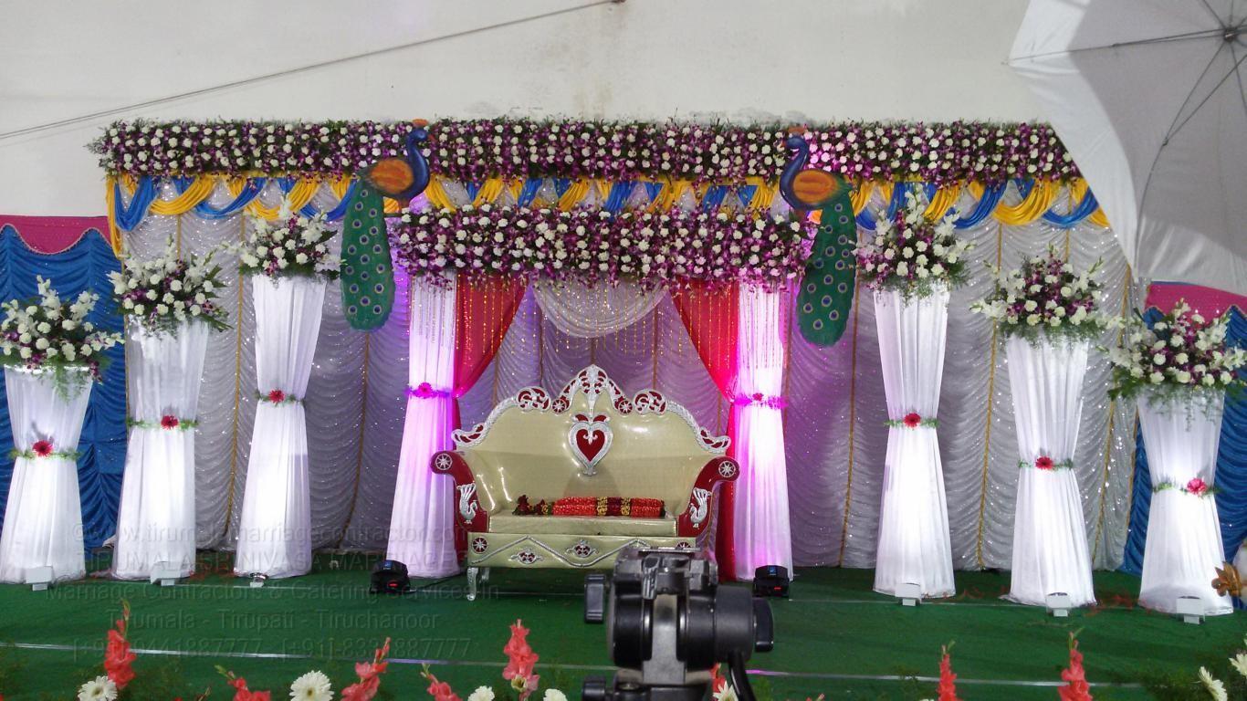 tirumala marriage contractor - reception 33