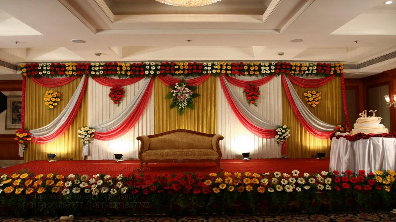 tirumala marriage contractor - reception 10