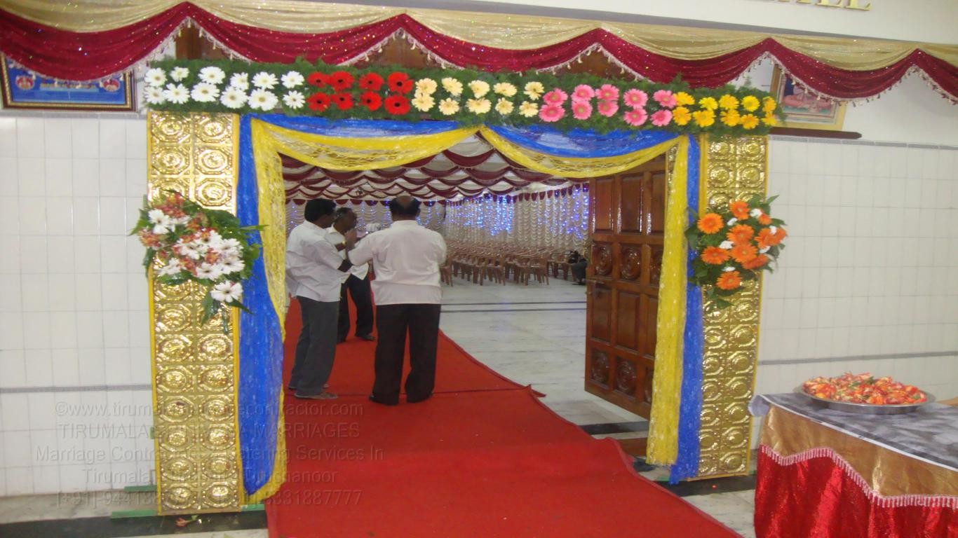 tirumala marriage contractor - name board & entrance 57