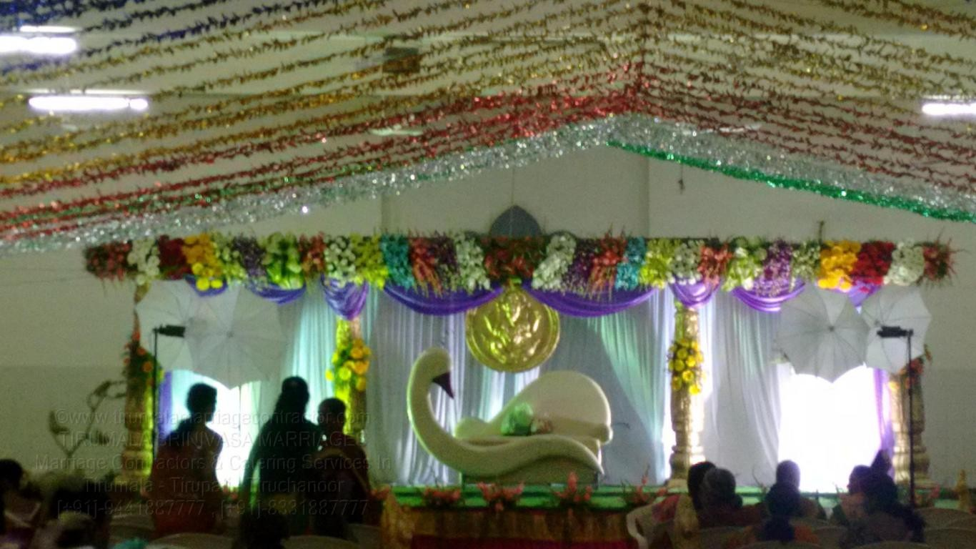 tirumala marriage contractor - reception 79