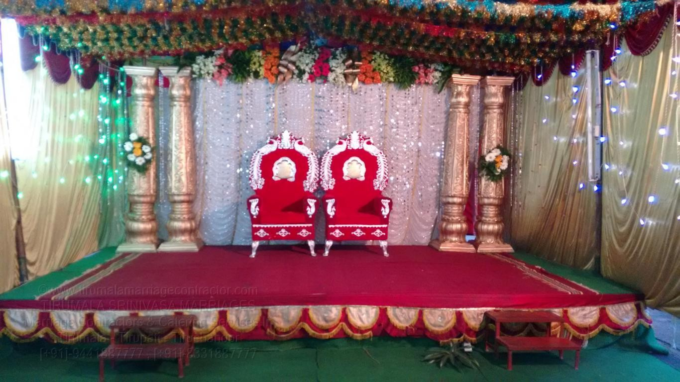tirumala marriage contractor - reception 83