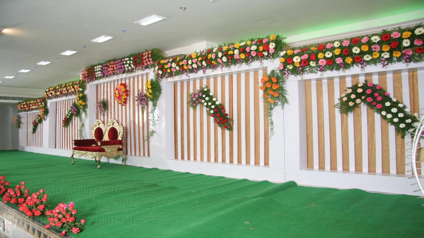 tirumala marriage contractor - reception 64