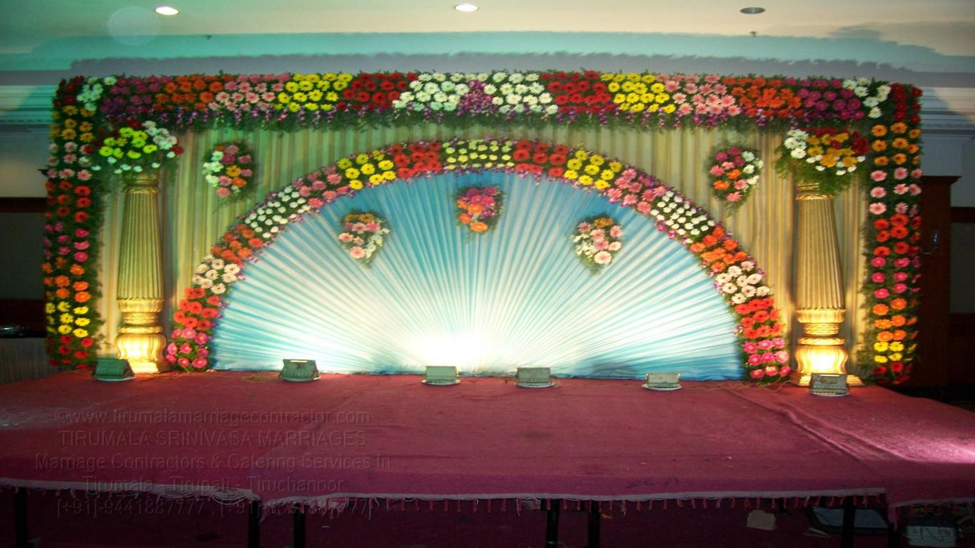 tirumala marriage contractor - reception 16
