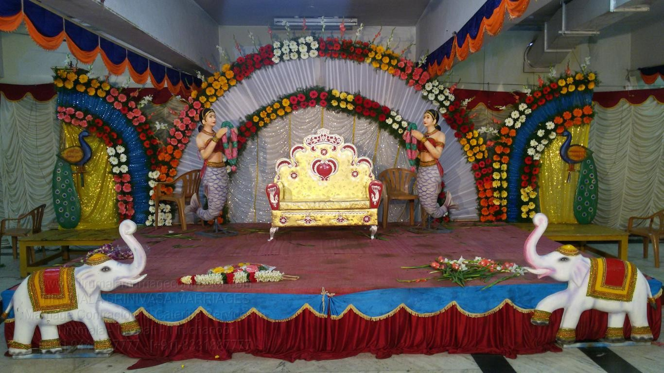 tirumala marriage contractor - reception 32