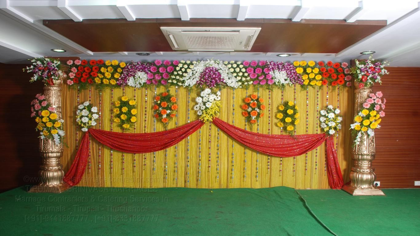 tirumala marriage contractor - reception 19