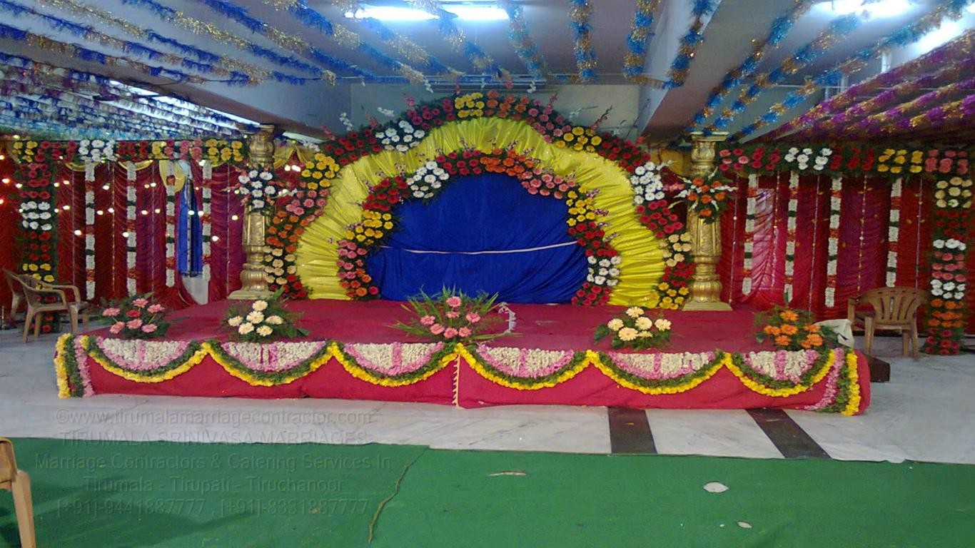 tirumala marriage contractor - reception 84