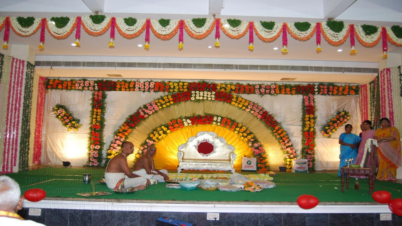 tirumala marriage contractor - reception 73