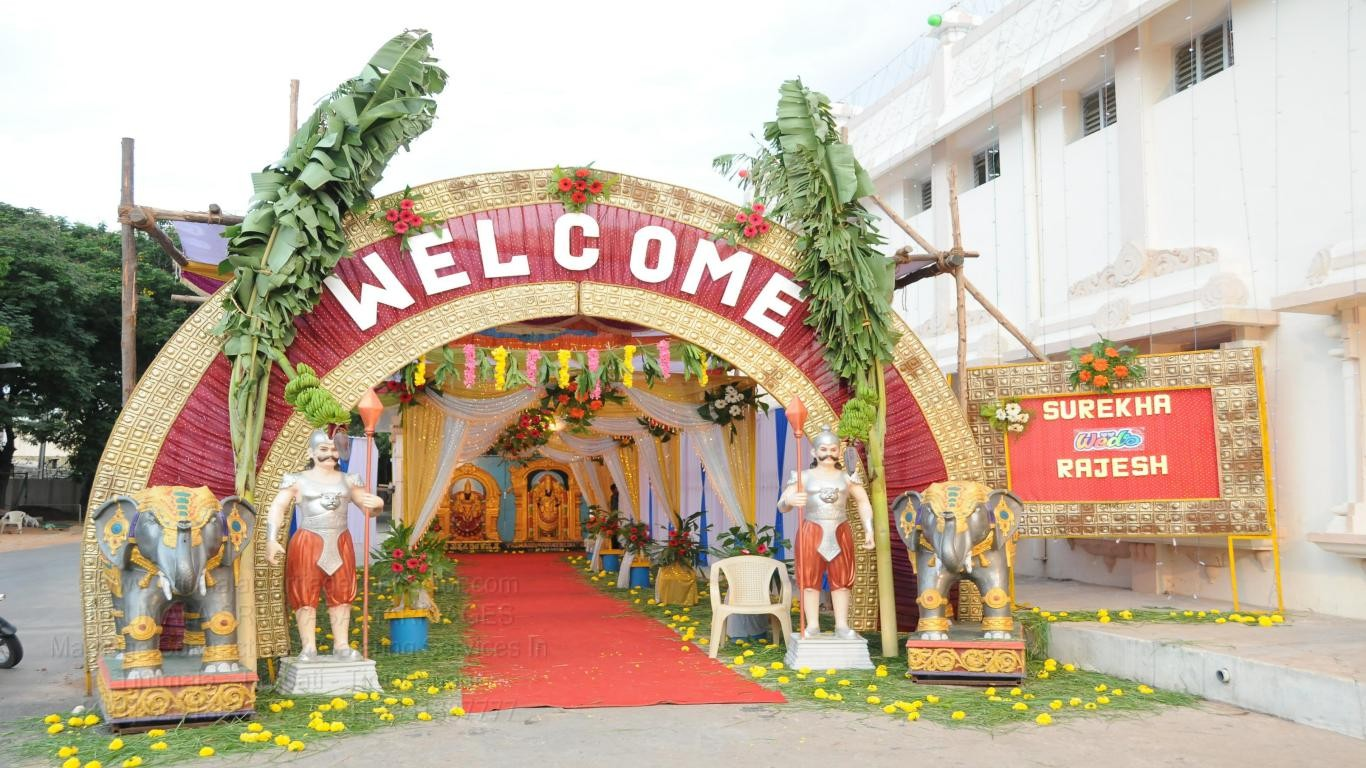 tirumala marriage contractor - name board & entrance 134