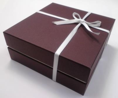 こちらの箱で送らせていただきます。