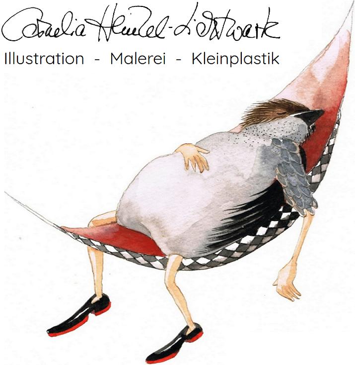Die Königin der Nacht - am Morgen danach... | Illustration von Cornelia Heinzel-Lichtwark