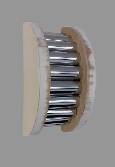 C1 - 17 - Holz, Metall - 40 x 18,5 x 20