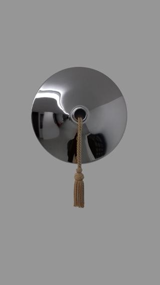 Posament - 17 - Metall, Textil - 65 x 44 x 13