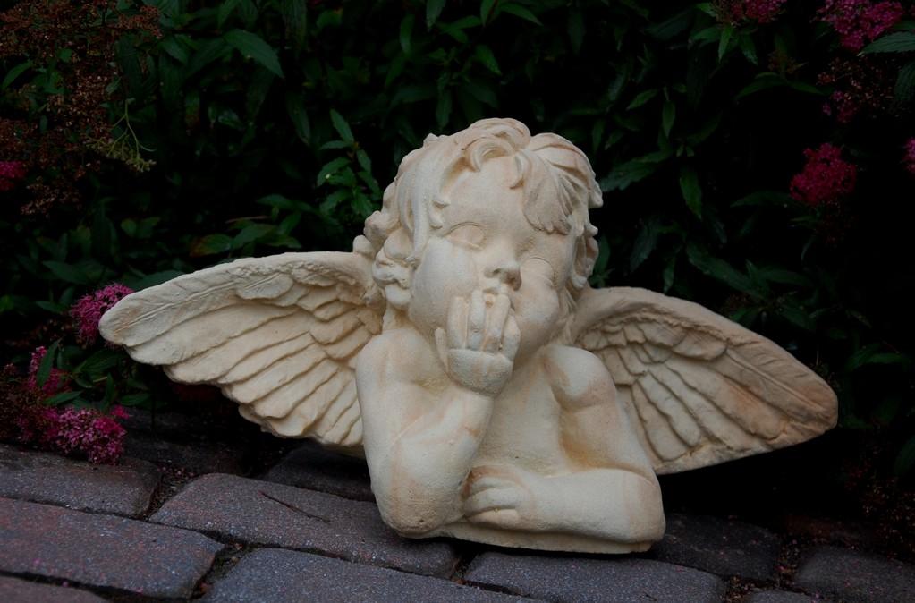 """Engel """"Merlin"""" groß 26/53 cm 12,000 kg Art.-Nr. 101s/a"""