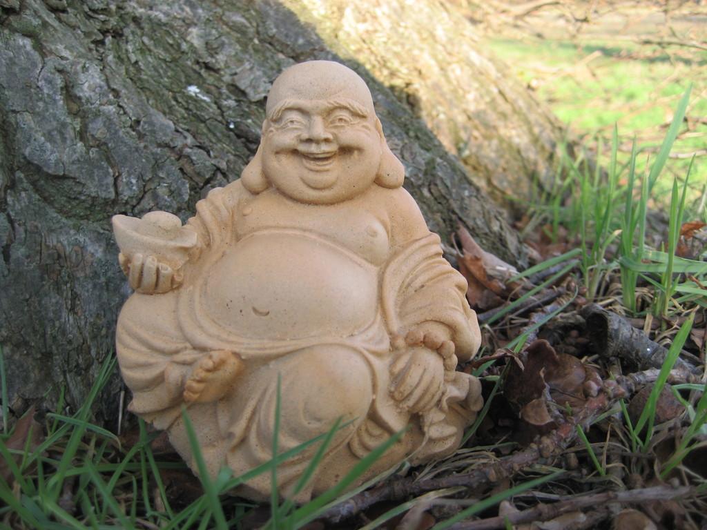 Buddha mit Schale 9/10 cm 0,500 kg Art.-Nr. 132s/a