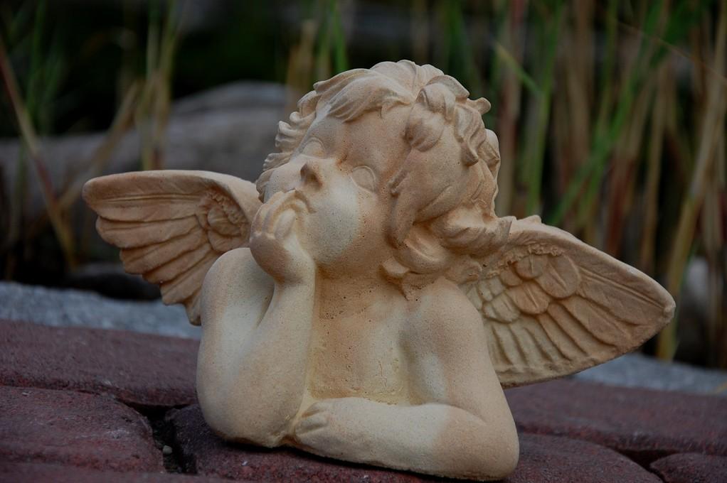 "Engel ""Merlin"" klein 13/24 cm 1,600 kg Art.-Nr. 100s/a"