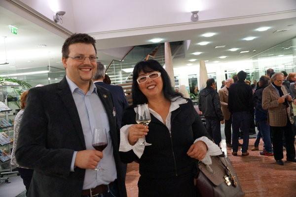 Matthias Laurenz Gräff und Georgia Kazantzidu, Foto Hilda Schwameis (Bezirksblätter Horn)