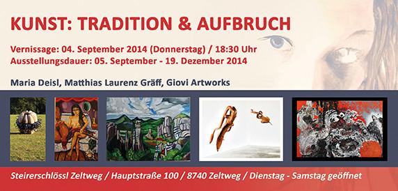 Einladung II, Matthias Laurenz Gräff, Steirerschlössl