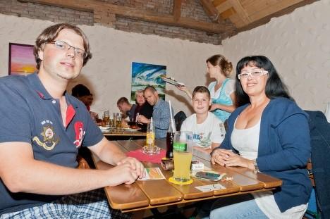 Georgia Kazantzidu, Matthias Laurenz Gräff und Franz, Garser Sommerreigen. Foto Reinhard Podolsky, mediadesign Burgschleinitz
