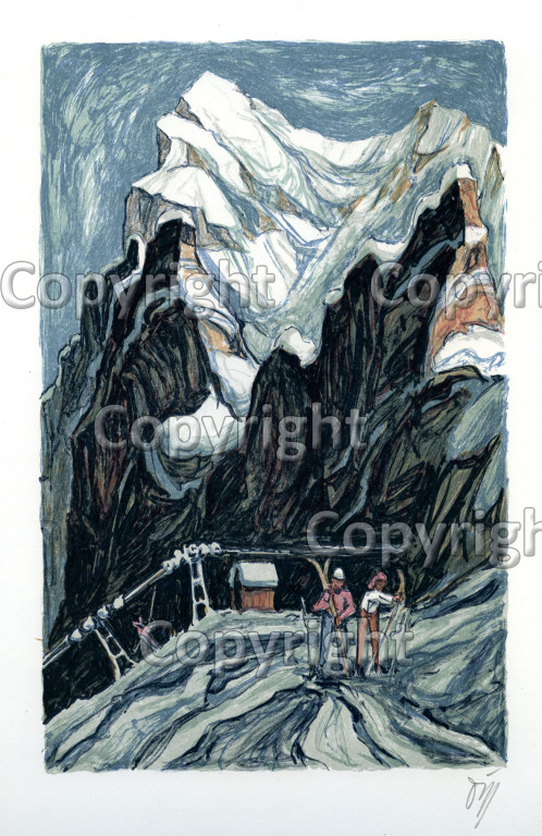 Nr.345 Skilift Salzegg mit Eiger