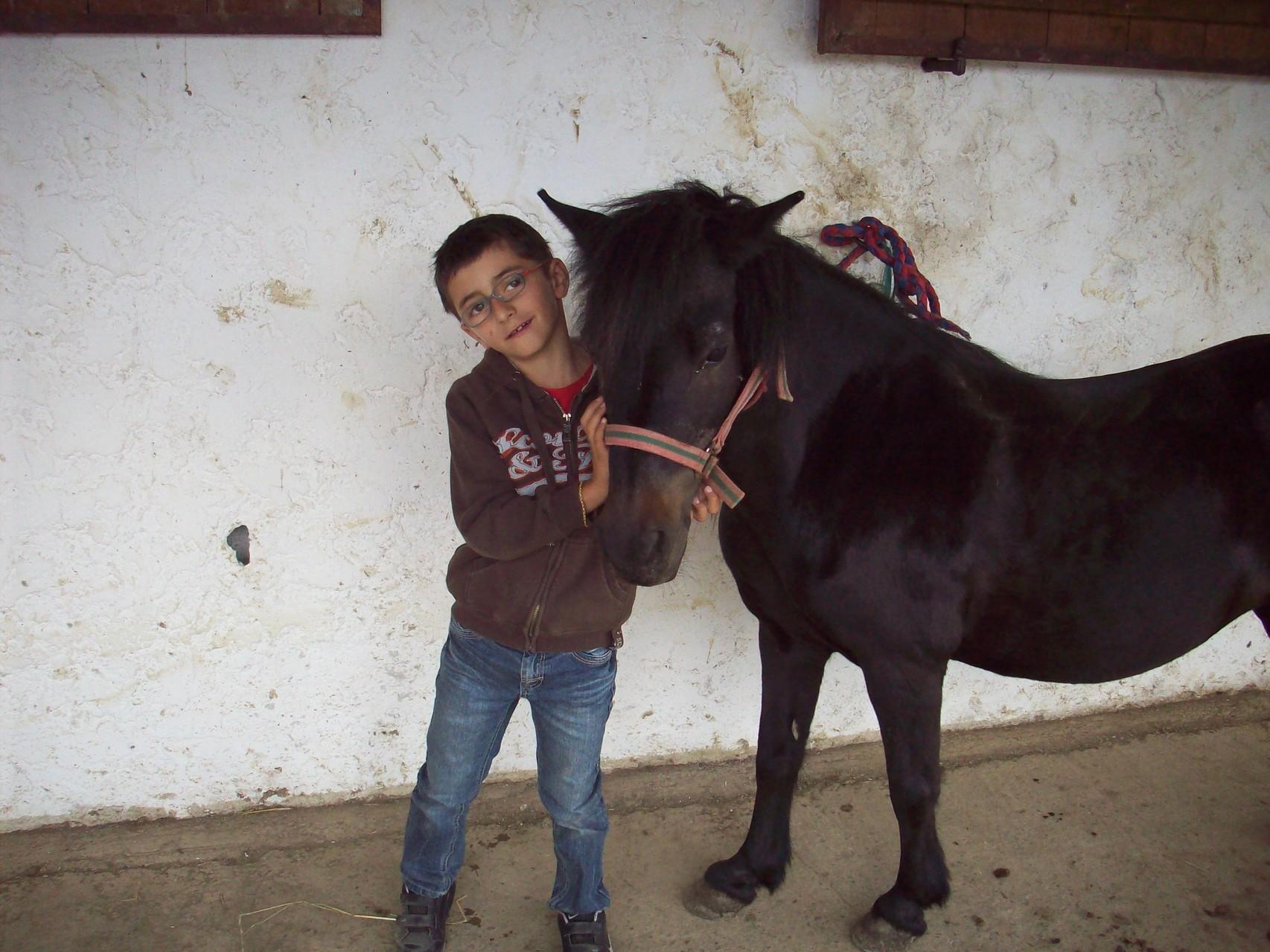 Equitation en famille à La ferme Equestre de Coumariau